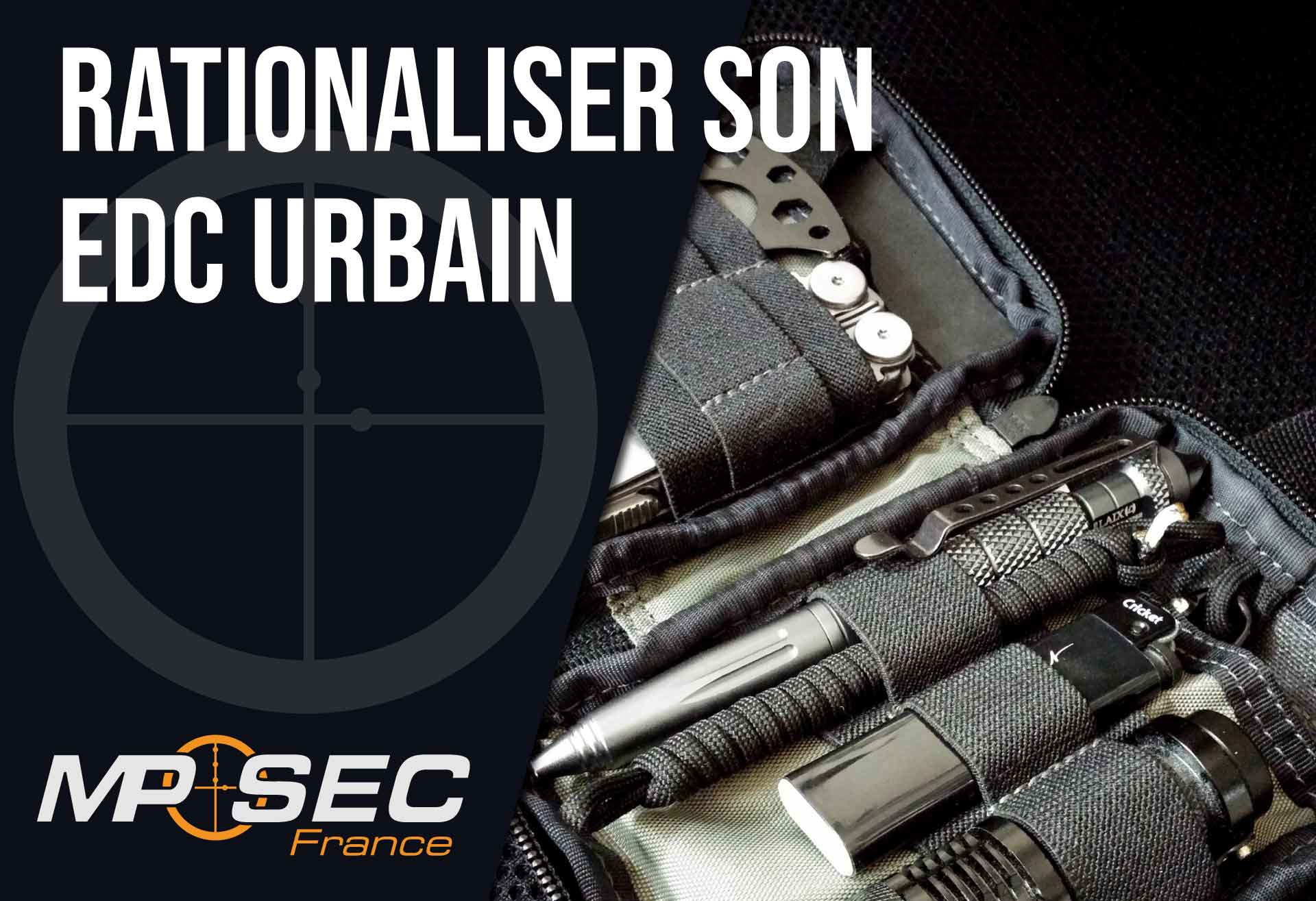 Read more about the article Rationaliser son EDC urbain
